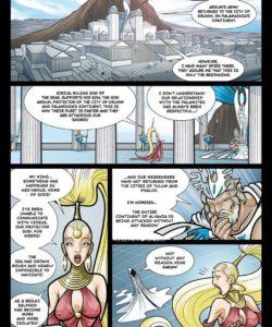Exodus 1 - Euribatos The Tenebrous 012 and Gay furries comics