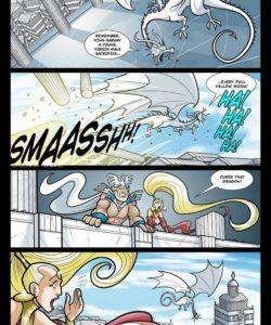 Exodus 1 - Euribatos The Tenebrous 016 and Gay furries comics