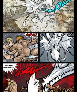 Exodus 1 - Euribatos The Tenebrous 018 and Gay furries comics