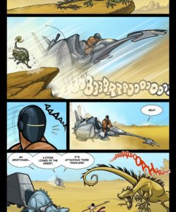 Exodus 1 - Euribatos The Tenebrous 020 and Gay furries comics