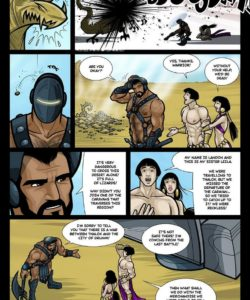 Exodus 1 - Euribatos The Tenebrous 022 and Gay furries comics