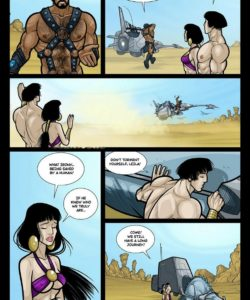 Exodus 1 - Euribatos The Tenebrous 023 and Gay furries comics