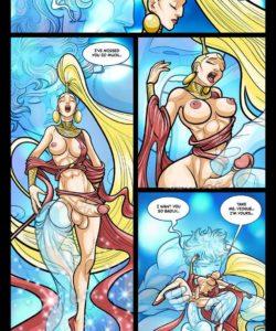 Exodus 1 - Euribatos The Tenebrous 025 and Gay furries comics