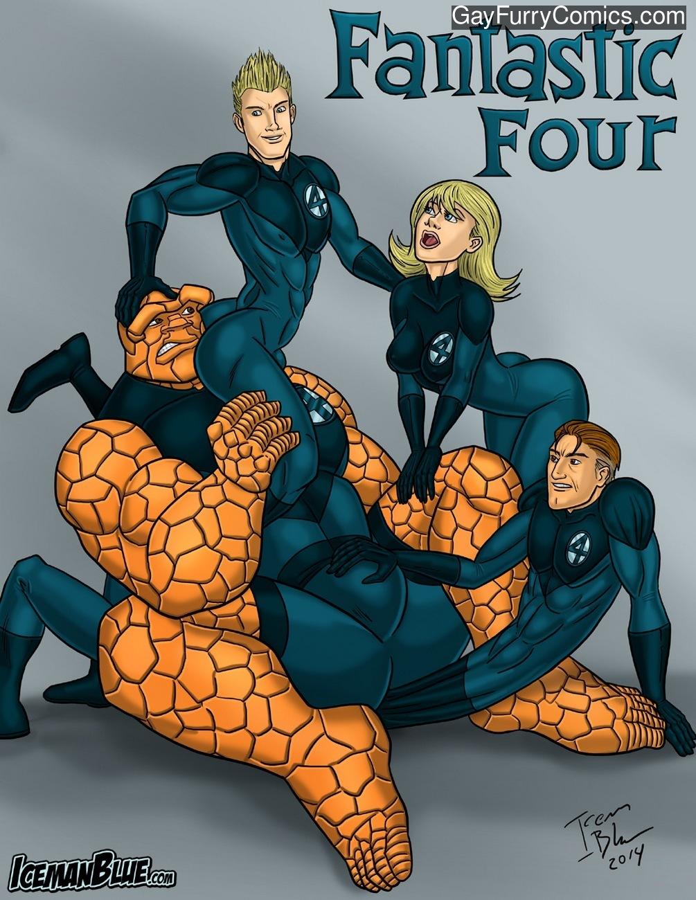 Fantastic Four gay furries
