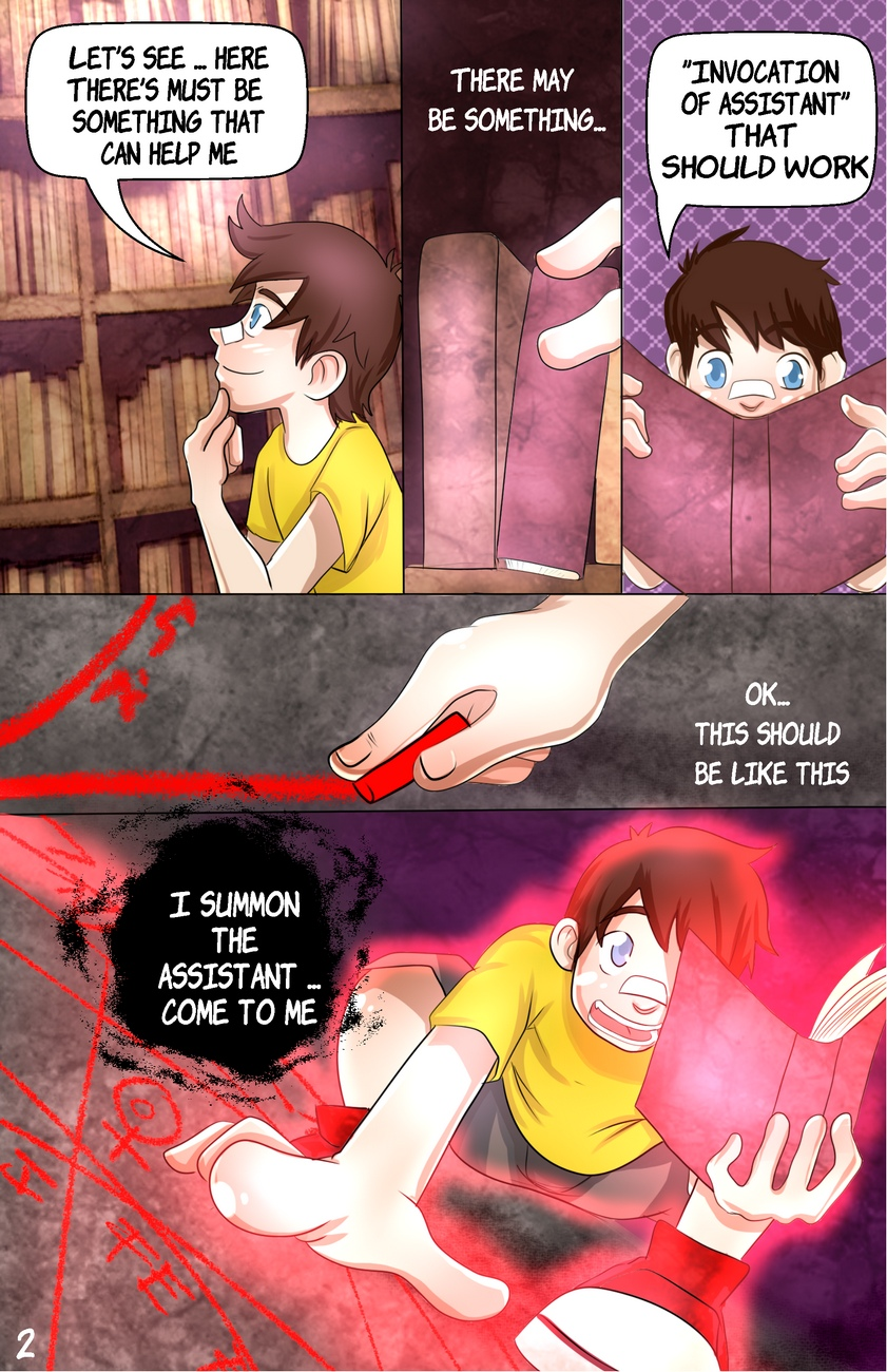 Ferbit Comic 2 – The Helper 1 gay furry comic