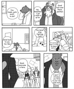 Fight Of Pride 3 - The 4th Member 007 and Gay furries comics