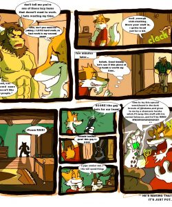 Finding A New Home 003 and Gay furries comics