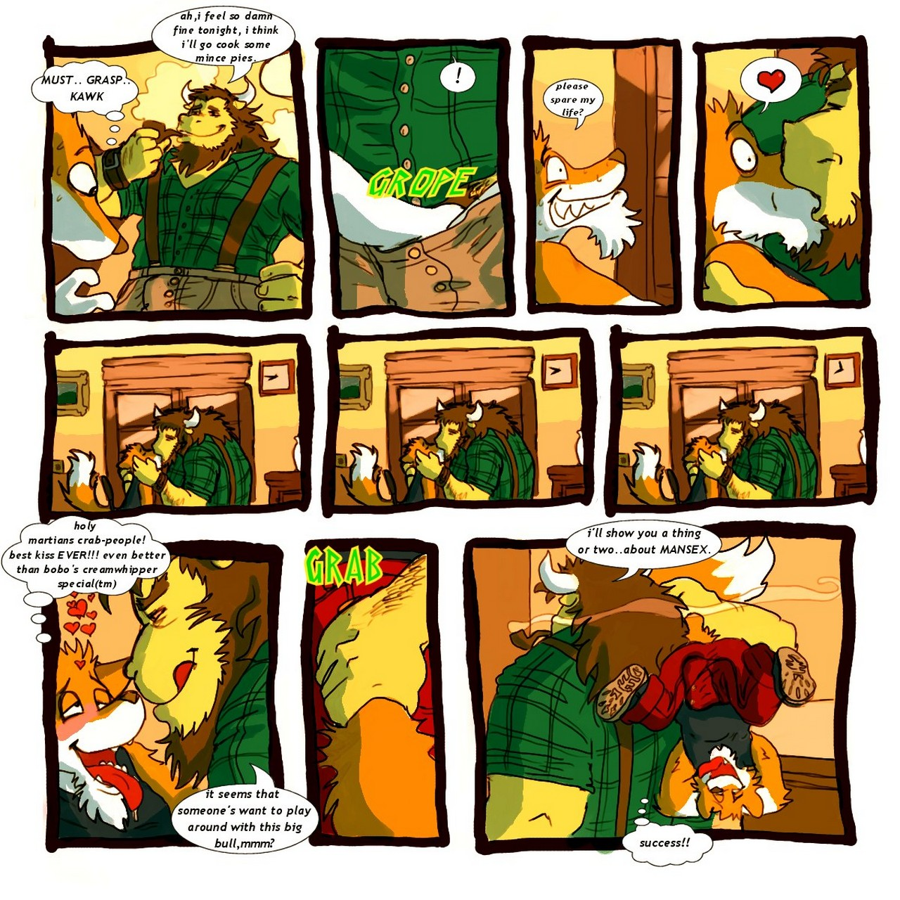 Finding A New Home gay furry comic