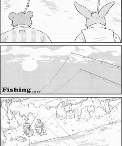 Fishing gay furry comic