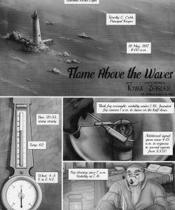 Flame Above The Waves 001 and Gay furries comics