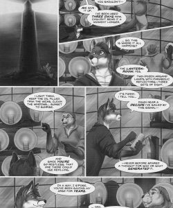 Flame Above The Waves 007 and Gay furries comics