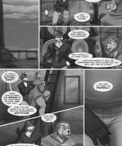 Flame Above The Waves 009 and Gay furries comics