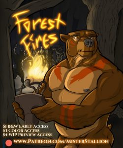 Forest Fires 1 001 and Gay furries comics