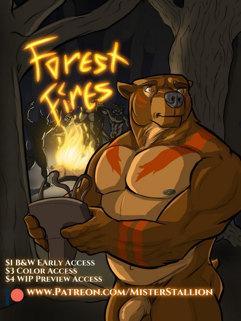 Forest Fires 1 gay furry comic
