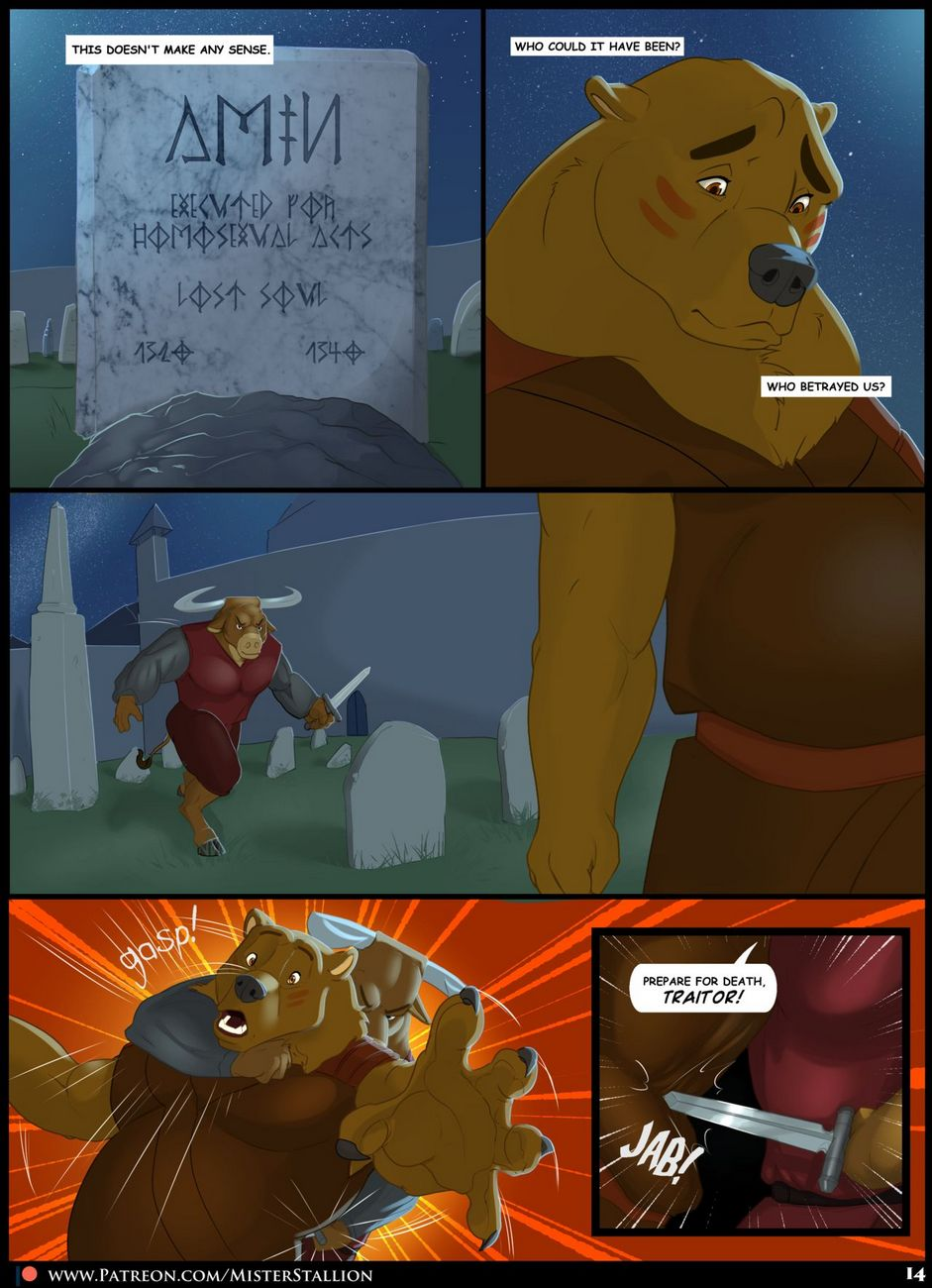 Forest Fires 2 – Revenant gay furry comic
