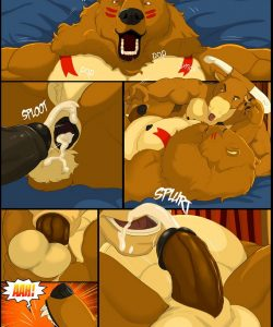 Forest Fires 2 - Revenant 027 and Gay furries comics