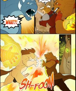 Forest Fires 2 - Revenant 033 and Gay furries comics