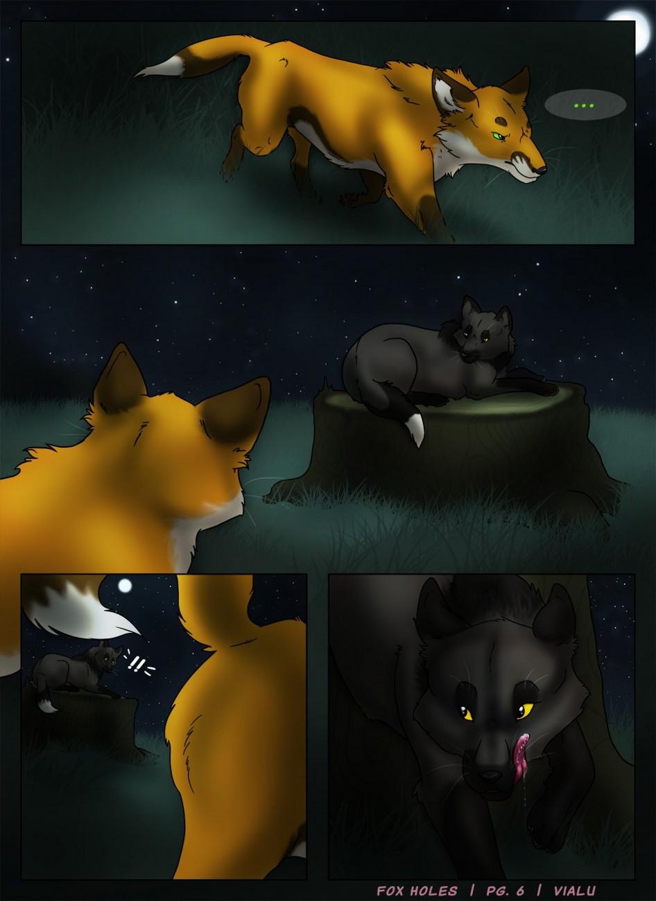 Fox Holes gay furry comic