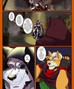 Fox X Wolf 001 and Gay furries comics