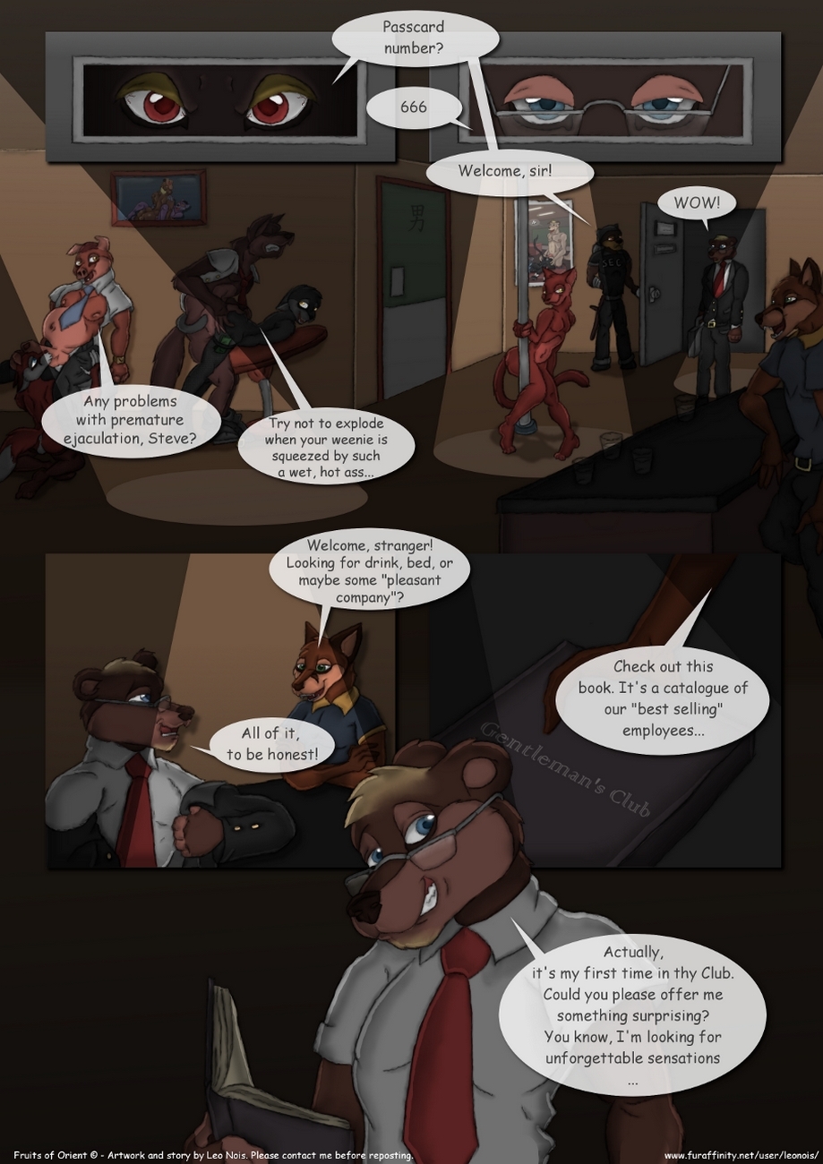 Fruits Of Orient gay furry comic