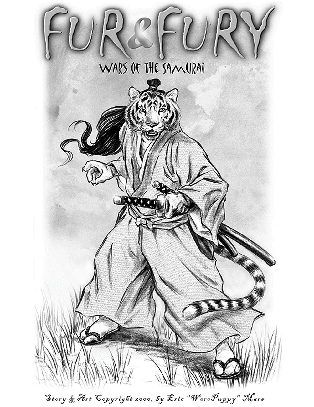 Fur & Fury 1 – Wars Of The Samurai gay furry comic