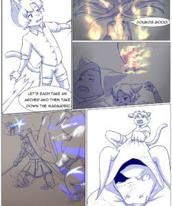 Furry Fantasy XIV 2 gay furry comic