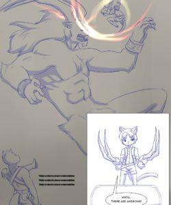 Furry Fantasy XIV 3 013 and Gay furries comics