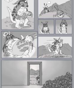 Gabumon's Feast 001 and Gay furries comics