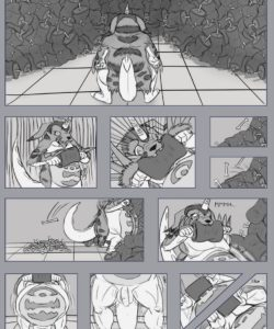 Gabumon's Feast gay furry comic