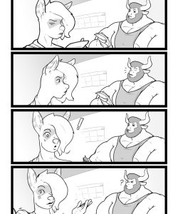 Gain Size Now, Ask Me How 004 and Gay furries comics