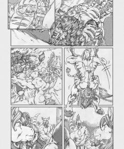 Gangbang Punishment 001 and Gay furries comics