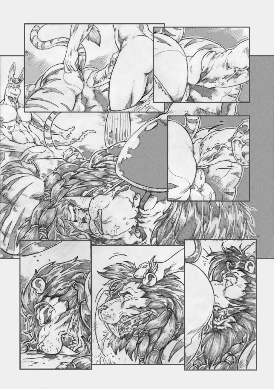 Gangbang Punishment gay furry comic