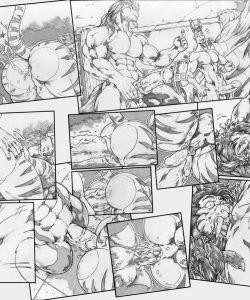 Gangbang Punishment 009 and Gay furries comics