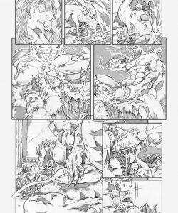 Gangbang Punishment 014 and Gay furries comics