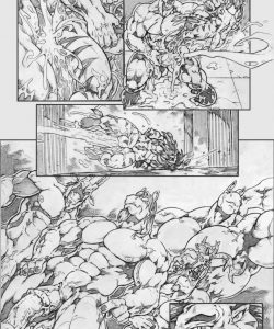 Gangbang Punishment 017 and Gay furries comics