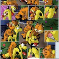 Garfield's Christmas gay furry comic