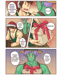 Gary & Pit - Christmas Special 004 and Gay furries comics