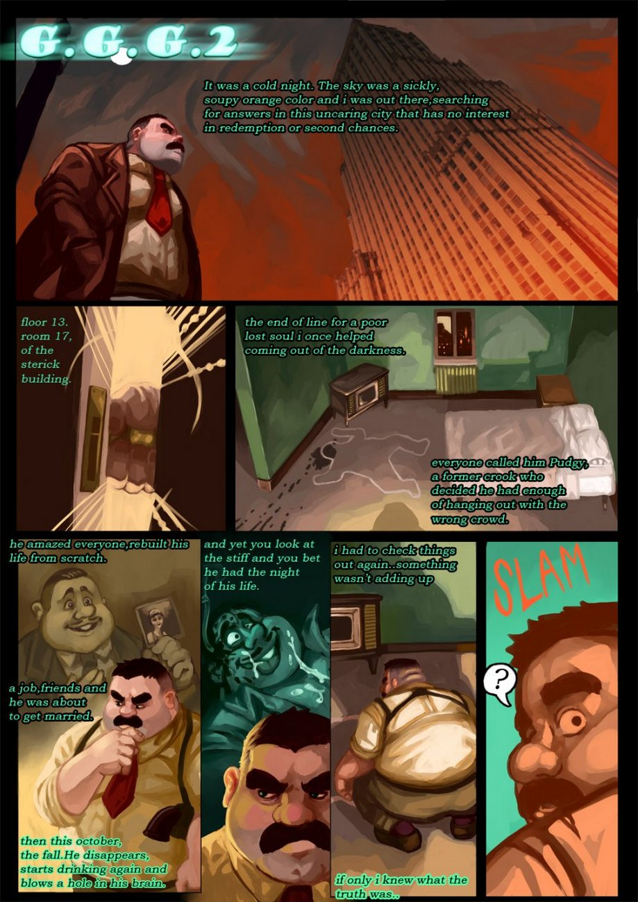 Gay Gangster Ghosts 2 gay furry comic