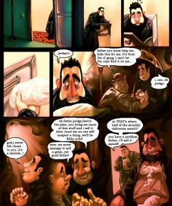 Gay Gangster Ghosts 2 005 and Gay furries comics