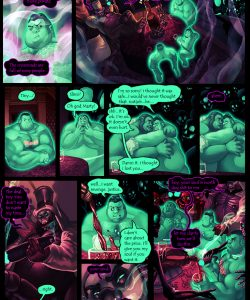 Gay Gangster Ghosts 4 017 and Gay furries comics