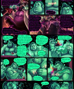 Gay Gangster Ghosts 4 018 and Gay furries comics