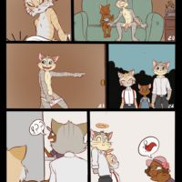 Gay Lackadaisy gay furry comic