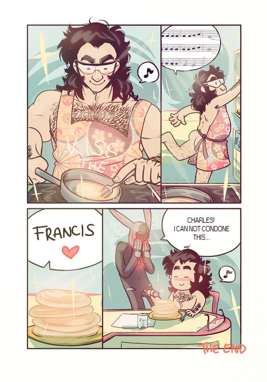 Get Your Man gay furry comic