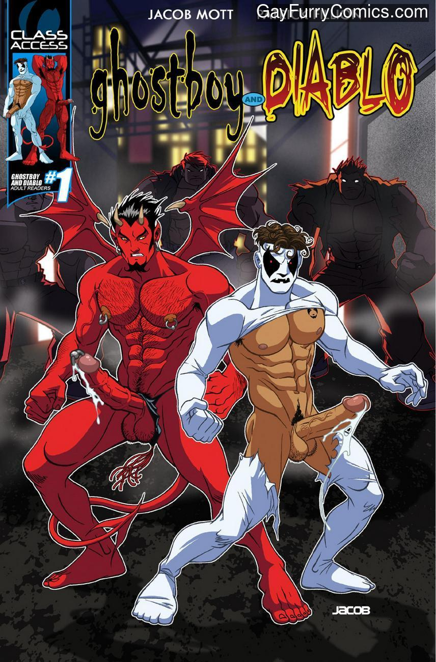 Ghostboy And Diablo 1 gay furry comic