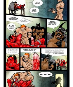 Ghostboy And Diablo 2 gay furry comic