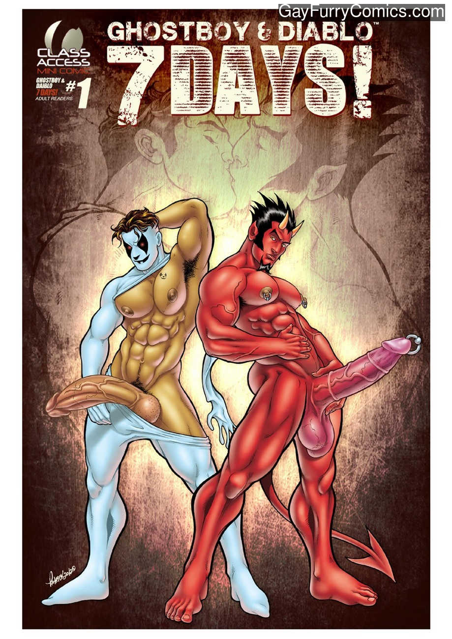 Ghostboy And Diablo – 7 Days gay furry comic