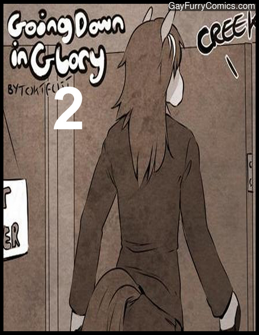 Going Down In Glory 2 gay furry comic