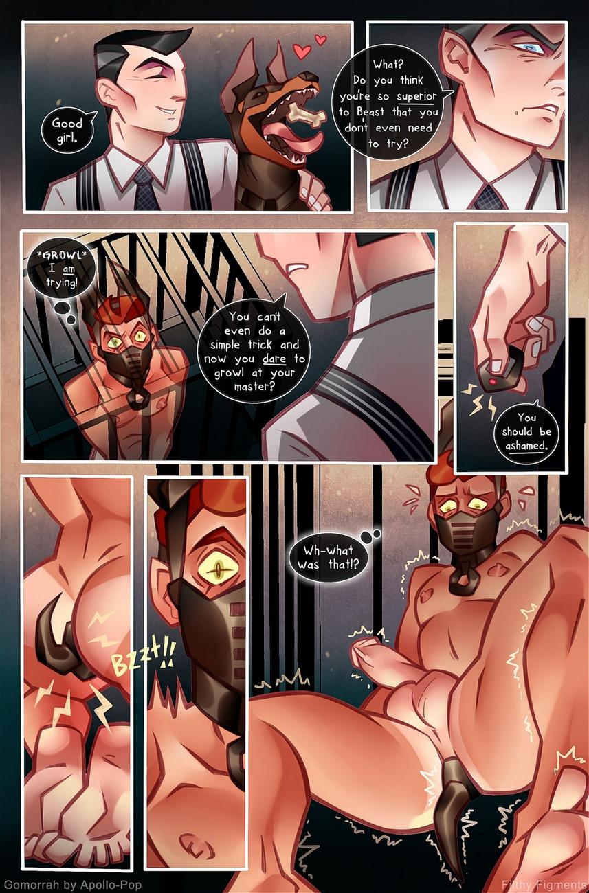 Gomorrah 4 gay furry comic