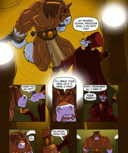 Gonan And The Goblet Of Spooge 003 and Gay furries comics