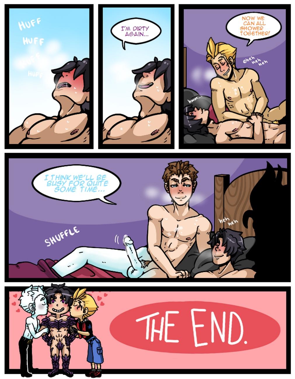 Good Morning gay furry comic